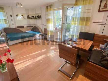 Komfortabel, top angebunden und gut geschnitten: Ruhige 2-Zi.-Terrassenwohnung mit TG-Stellplatz