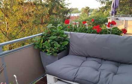 Top Lage, frisch renoviert, Balkon & Garten, nette WG
