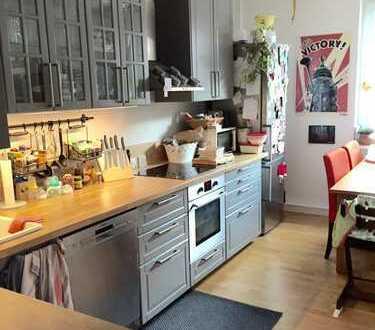 Stilvolle, neuwertige 3-Zimmer-Wohnung mit Balkon in Mannheim