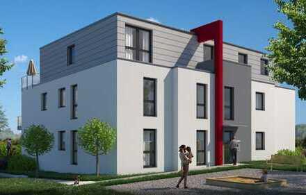 Moderne Erdgeschoss-Wohnung mit nach Süd/West ausgerichteter Terrasse und eigenem Garten!