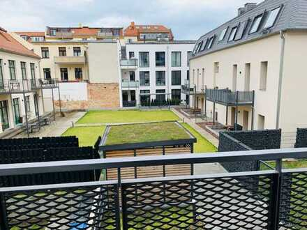 Mittendrin und trotzdem ruhig gelegen. Schicke Neubauwohnung mit 2 Balkonen im Waldstraßenviertel