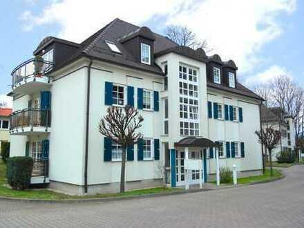 ruhige und helle 1-Zimmer-Wohnung mit Süd-West-Balkon in Dresden-Laubegast