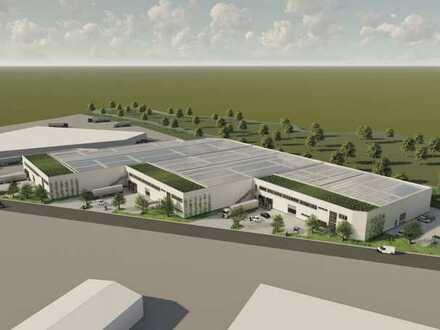 Neubau - Gewerbepark mit hervorragender Anbindung an A3