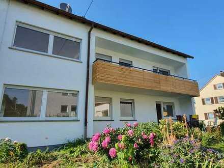 Erstbezug nach Sanierung: exklusive 4-Zimmer-Wohnung mit Einbauküche und Balkon in Affalterbach