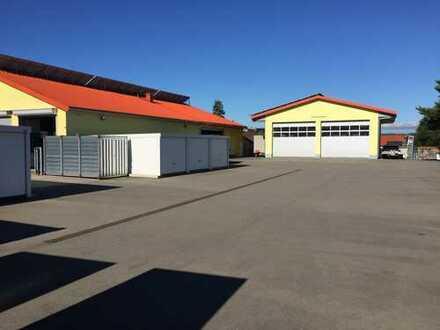 Garagen und Stellplätze ab 35 € ,asphaltiert, umzäunt, videoüberwacht, beleuchtet.
