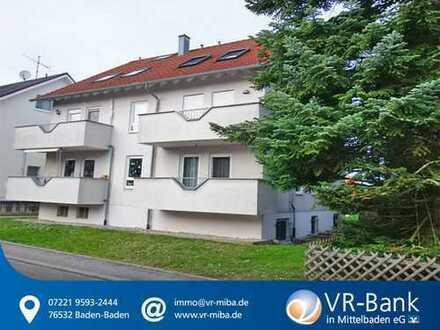 Gepflegte 2 Zi.-Wohnung mit Balkon in Elchesheim!