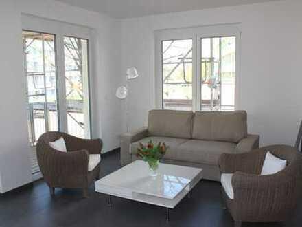 Traumwohnung im Grünen - 2 Zimmerwohnung mit West-Balkon neuwertig