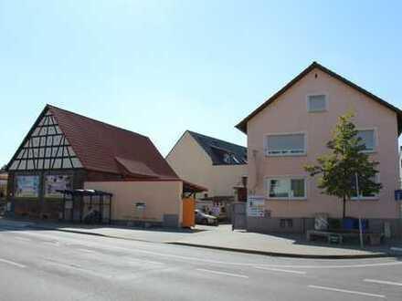 Wohn- und Gewerbeanwesen im Herzen von Bischofsheim