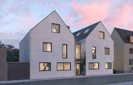 Ruhig und Grün - Neubau-Familienwohnung auf 2 Etagen mit Balkon und Tiefgarage