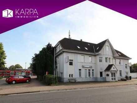 Hotel direkt am Bahnhof von Springe (Kreis Hannover), Bar, Restaurant, Betreiberwohnung