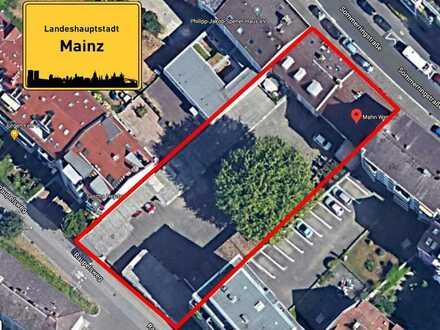 City Immobilie-Grundstück und 2 Mietshäuser im Herzen von Mainz