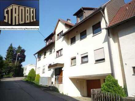 Helle, sonnige 2 Zi.-Whg. mit 51 qm Wfl. + Balkon + Einzelgarage in Steinenbronn (BB)