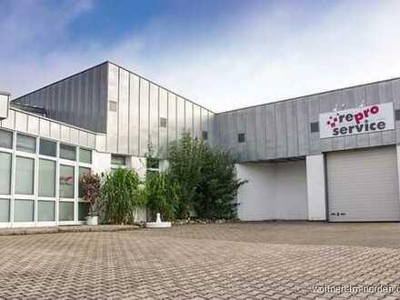 Heikendorf Top - Gewerbelage Moderne Lagerhallen mit großzügigem Bürobereich