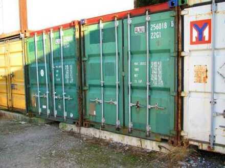Großer Seecontainer/Lagercontainer/Container (mit Stellplatz)