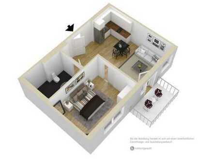 Geräumig und barrierefrei! 2-Raum-Seniorenwohnung mit Platz für Hobbys