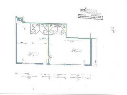 Lagerfläche mit Büro (teilbar) mit 125m²- Nfl. - ebenerdig