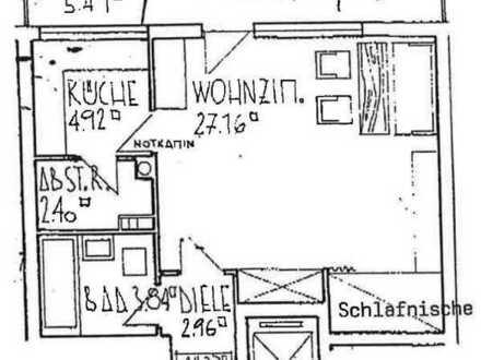 Schöne 1-Zimmer-Wohnung mit Balkon und EBK in Nürnberg