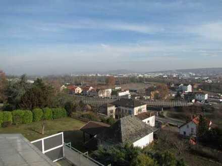 unverbaubarer Blick über die Stadt