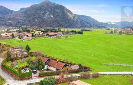 Traumhaftes Grundstück mit unverbaubarem Alpenblick