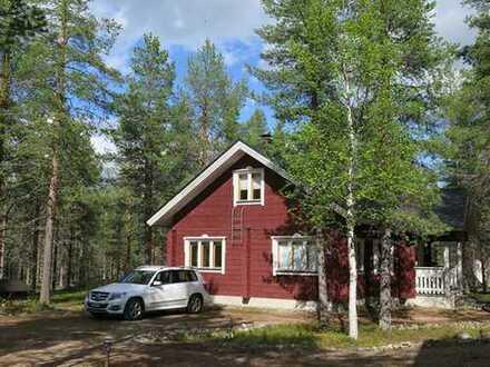 Ferienhaus in Lappland, für alle Jahreszeiten
