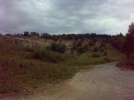 Grundstücke zweier ehemaliger Steinbrüche in der Oberpfalz