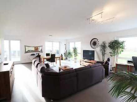 Luxus über den Dächern von Laudenbach - moderne Penthouse-Wohnung im Neubau