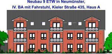IV. BA, ETW Nr. 6 im Obergeschoss, Haus A, Kieler Straße 435, Neubau 9 Eigentumswohnungen