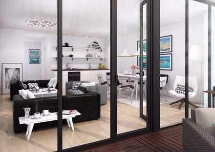 Wohnen im Grünen, großer Balkon, Fußbodenheizung und Stellplatz! Gäste-WC!