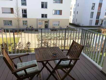 Exklusive, neuwertige 4-Zimmer-Wohnung mit Balkon und EBK in Fürth