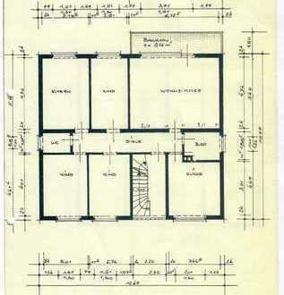 Schöne, helle fünf Zimmer Wohnung in Darmstadt, Eberstadt mit Balkon und Kellerraum ruhige Wohnlage