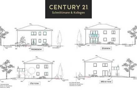 Eigentumswohnung im EG mit Garten und zwei Stellplätzen.