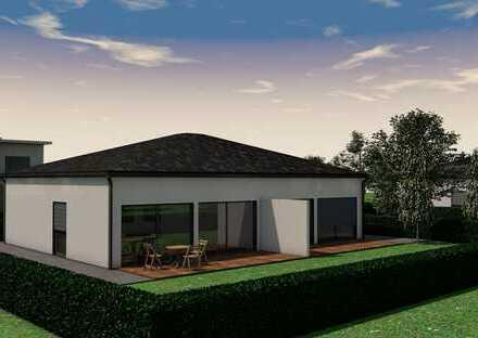 Nur noch 1 Grundstück! Bungalow-Doppelhaushälfte mit Südgarten! Wohnen auf einer Ebene!