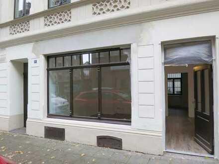 Charmantes Erdgeschossbüro im Jugendstilhaus - Erstbezug nach Sanierung