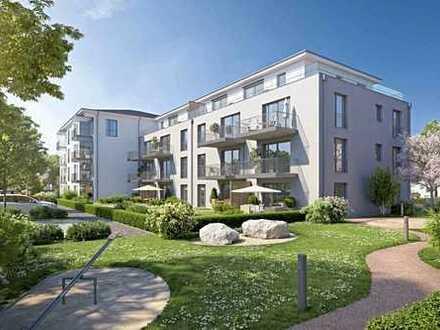 RESERVIERT: Wohnen wie im Haus: Helle 4-Zimmer mit West-Terrasse - 34 m² Garten! (47)