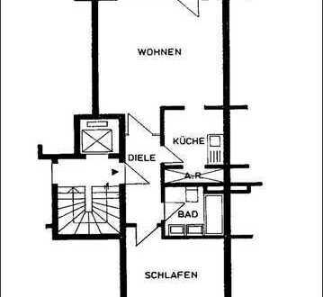 Schöne zwei Zimmer Wohnung in Köln, Esch/Auweiler