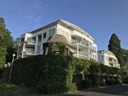 BAD GODESBERG / PLITTERSDORF: Exklusive 3-Zimmer-Wohnung in direkter Rheinpromenadenlage