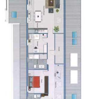 Erstbezug mit EBK und Balkon: hochwertig ausgestattet 3,5-Zimmer-DG-Wohnung in Nürtingen