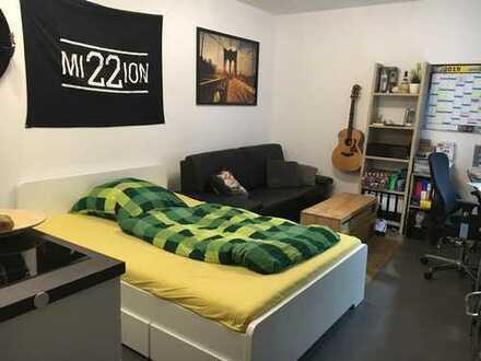 Stilvolle 1-Zimmer-Wohnung in einem Neubau mit Balkon im Zentrum von Münster Befristet 31.03.20