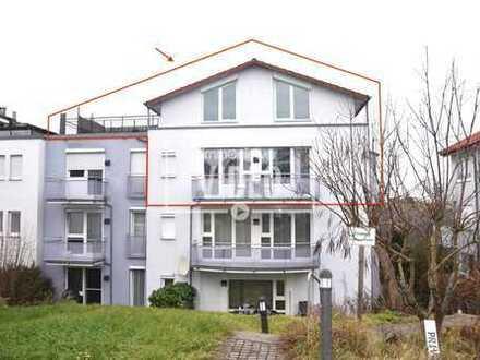 **Tolle 4,5-Zimmer-Maisonette-Whg. mit Dachterrasse, Balkon, TG-Platz uvm.**Mittenbühl**