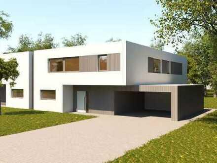 Hochmoderne Doppelhaushälfte in einzigartigem Design!