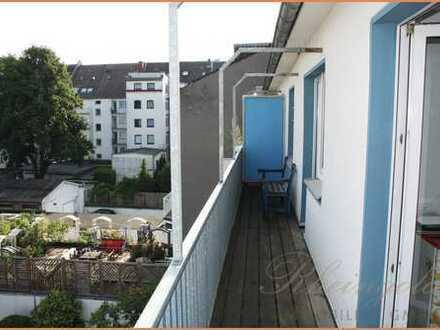 Cityleben: Dem Zentrum so nah schöne city-wohnung mit 2 Balkonen