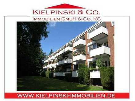 Vermietete 3-Zi.-ETW in der Endetage mit Balkon und TG im ruhigen Ohlsdorf