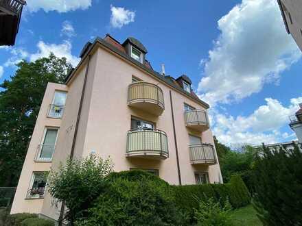 * schöne 2-Zimmer-Wohnung in beliebter Lage mit Balkon *
