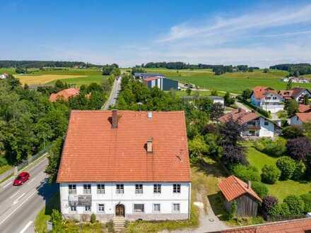 Achtung Preissenkung! - Denkmalgeschütztes Anwesen in Hohenfurch