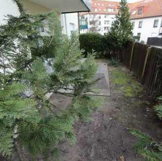Gartenwohnung ab sofort zu vermieten.