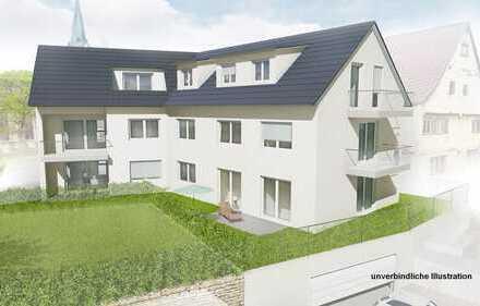 Neubau: 2-Zimmer-Wohnung 1. OG im Herzen Gönningens