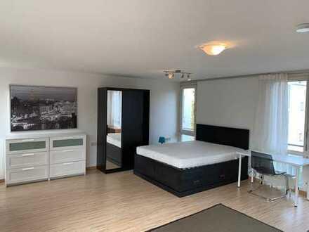 Moderne und möblierte 1-Zimmer Wohnung mit separater Küche