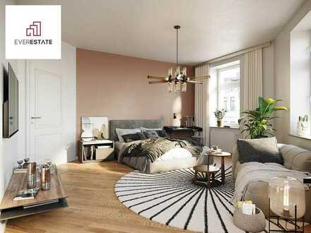 Provisionsfrei & frisch renoviert: Singlewohnung mit offenem Grundriss & viel Licht