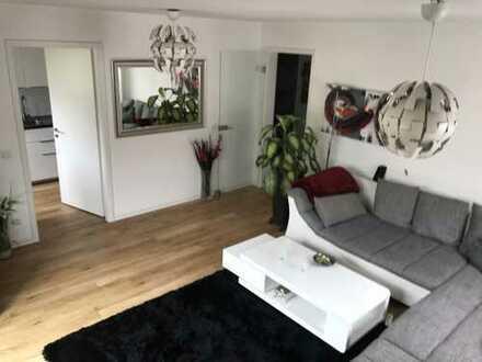 Neuwertige, sonnendurchflutete 2-Zimmer-Wohnung mit Balkon und EBK mit WBS