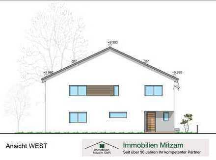 Neubau: Hochwertige Doppelhaushälfte mit Garage u. Top-Ausstattung in verkehrsgünstiger Lage